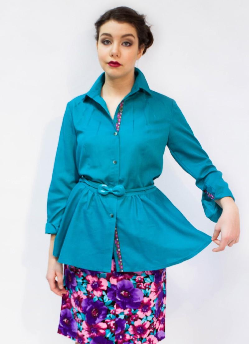 Изумрудная Блузка
